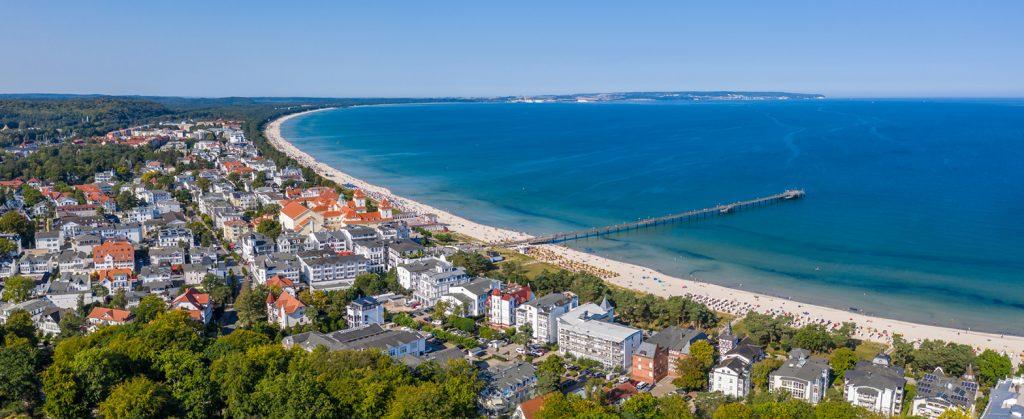 Luftbild Ostseebad Binz