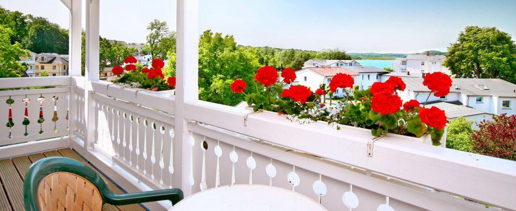Hotel Getreuer Eckart Balkon